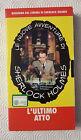 CS17> FILM VHS SHERLOCK HOLMES L'ULTIMO ATTO