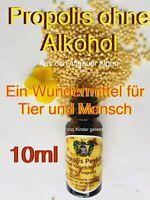 10g Alpen Propolis Kügelchen für Kinder Tiere OHNE ALKOHOL Viren Halsschmerzen😘