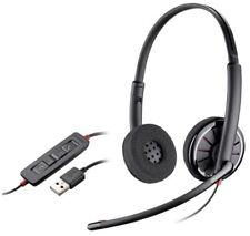Plantronics Blackwire C320 Stereo UC Headband Corded Noise-Canceling USB Headset