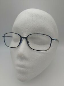 SILHOUETTE SPX 2825 eyeglasses glasses frame - black/blue marble