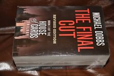 NEW Michael Dobbs House of Cards set 3 paperback books rrp £26.97