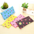 Watermelon Canvas Pencil Bag Stationery Storage Organizer Case Schoolx ZU