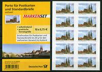 Bund 10 x 2850 SK Folienblatt FB 14 postfrisch BRD Regensburg Selbstklebende MNH