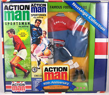 Action Man 40th Ann Chelsea Footballer Set (Includes Figure)
