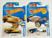 Hot Wheels 2015 HW Showroom Great Gatspeed & Hi Roller 2 Car Die-cast Combo