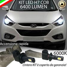 KIT FULL LED HYUNDAI IX35 PRE-RESTYLING LAMPADE LED H7 6000K XENON NO AVARIA