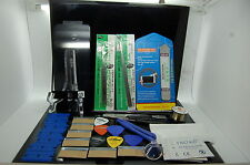 Nuova Kit Pre-Installato di Riparazione Vetro Frontale per iPhone 6 Nero