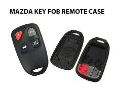 MAZDA 2 3 6 323 626 4 BUTTON REMOTE KEY FOB CASE SHELL & RUBBER BUTTONS