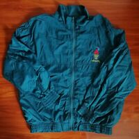 Vintage 1996 Atlanta Olympics Speedo Full zip Nylon Windbreaker Jacket