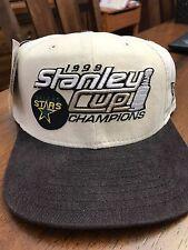 Dallas Stars NHL 1999 Stanley Cup Champions Locker Room Cap New w/Tag Snapback