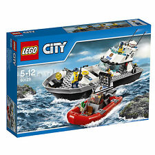 LEGO ® City 60129 Police-PATROUILLES-Marin nage! _ Police Patrol boat Floats!