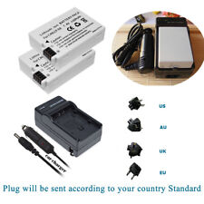 2 BATTERY &  Charger for Canon LP-E8 EOS 550D,EOS 600D,EOS 700D