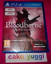 BLOODBORNE GAME OF THE YEAR EDITION SONY PS4  NEUF VERSION 100% FRANCAISE NEW