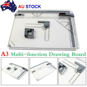 Portable Drafting A3 Drawing Board Drawing Head Tilters Square Art Supplies