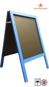 LARGE - BLUE - A BOARD - PAVEMENT  BOARD  - 10 KG - 100CM HIGH X 62CM WIDE