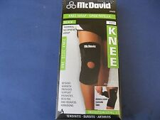 McDavid Open Patella Knee Wrap A409 Thermal Neoprene Brace One size Fits all