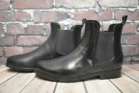 Womens Gant Black Rubber Pull On Low Heel Ankle Boots UK 8 EUR 42