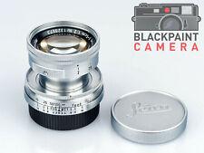 Leica Leitz SUMMICRON 5cm 50mm f/2 LTM M39 Year 1955 + Caps
