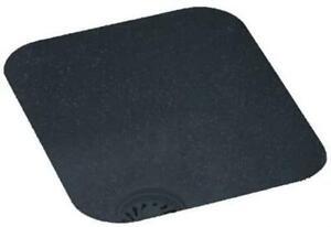 Swan Undermount Composite 13.4 in Bar/Prep Single Bowl Sink Black US01513SB.015