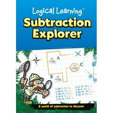 Subtraction Explorer Numeracy Logical Learning Maths Book KS1 KS2 B052