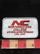 Lima Ohio NORTHWESTERN COLLEGE Patch Auto Diesel Ag High Performance 84YY