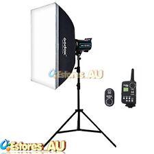 Godox QS600 600W 220V Speed Studio Flash Strobe Photo Lamp Head Lighting Kit