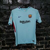 Barcelona Barca Jersey Away shirt 2017 - 2018 Blue Nike 847386-484 Size Young XL