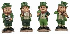 Fairy Garden Set of 4 St. Patrick's Day Leprechaun Figurines - Buy 3 Save $5