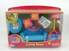 Fisher Price Dora The Explorer Decorate Dora's House Living Room Set SEALED