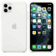 For Apple iPhone 11 Pro Max Genuine Silicone Case Original Back Cover Skin US