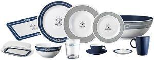 MELAMINE non slip non rattle BRUNNER NAUTICAL CAMPING plate CARAVAN plates dish