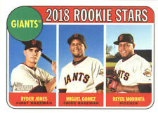 2018 Topps Heritage Baseball Card Singles Rookie RC You Pick