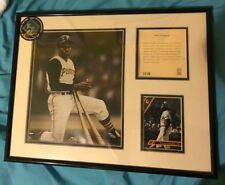 Roberto Clemente Pride of Pittsburgh Framed 5X7 PHOTO CARD BIO PIRATE LITHOGRAPH