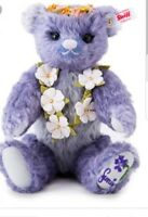 STEIFF JAPAN SUMIRE TEDDY BEAR - LAVENDER 28cm/ 11in. EAN 677885 RETIRED