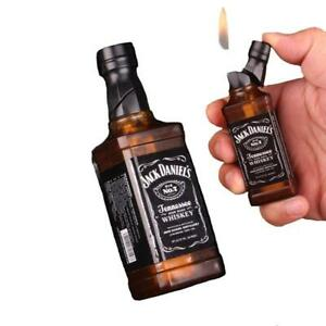 Jack Daniels Tennessee Whiskey Novelty Bottle Butane Lighter Windproof US Seller
