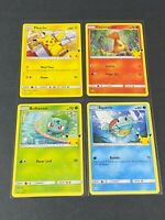 2021 McDonald's POKEMON 25th Anniversary Cards /25 You Pick - Complete your Set