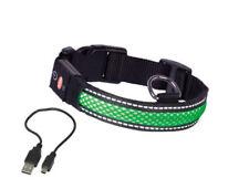 Reflektierende Leucht -/Sicherheitshalsbänder Hundegröße XL