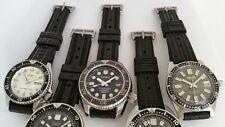 3 x strap PROMO- 19mm rubber WAFFLE+Willard+731 for SEIKO 6105 6217 150m diver