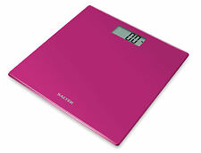 Salter 9069 PK3R Electronic Glass Bathroom Scale - Pink