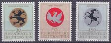 Liechtenstein 1969 #462-64 Arms of Ecclesiatic Patrons (Set of 3) Mnh