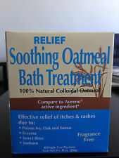 Relief Soothing Oatmeal Bath Treatment FREE SHIPPING