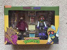 NECA Teenage Mutant Ninja Turtles Splinter & Baxter Action Figure