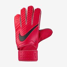 Nike GK partido portero Fútbol guantes Gs0344-657 Universidad rojo/negro Size10
