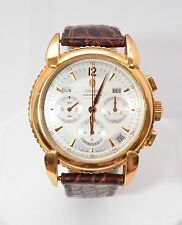 W198 Concord Impresario 52.G9.211 18K G automatic day/date chronograph men watch