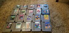 20 original  nintendo games NES lot