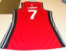NBA Toronto Raptors Kyle Lowry Adidas Jersey Red Ladies Women 2015-16 Medium