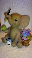"Lenox Porcelain ""Little Easter Elephant"" Figurine Mib 4.25 inches tall Beautiful"