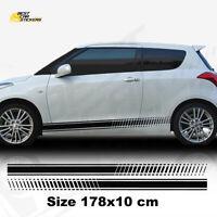 Gr/ö/ße : A Meets shop Auto Au/ßent/ürgriff Verkleidung for Suzuki Swift Vitara S-Cross 2012-2015 2016 2018 Tuergriffabdeckung Chrome Trim Zubeh/ör Carbon-Faser Kratzfest
