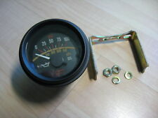 """Stewart Warner Oil Pressure Gauge 2-1/8"""" 52mm 100psi 700kPa X7J 1356 #M239Aa"""