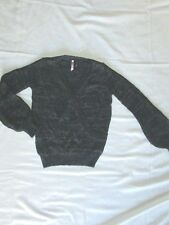 $69 Love by design size XS extra small womens sweater black cross over sweater